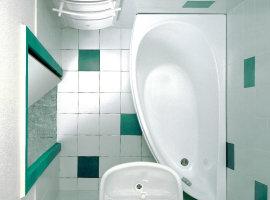 Цветовое оформление ванной