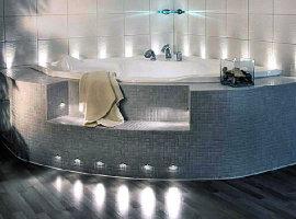 светодиодное освещение в ванной