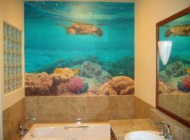 Фотообои для ванной комнаты