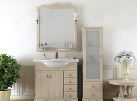 пенал для ванной комнаты фото