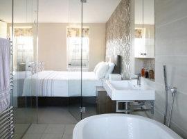 полотенцесушитель в ванной фото