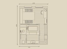 Планировка ванной комнаты4