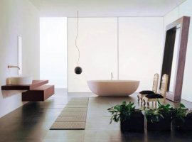 красивые ванные комнаты 2014