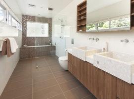 оформление ванных комнат фото