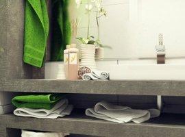 декор ванной комнаты своими руками фото