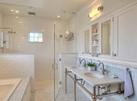 зеркало шкаф для ванной комнаты