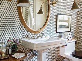 Обои для ванных комнат фото