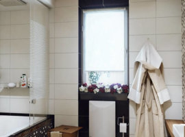 декор ванной комнаты маленькой