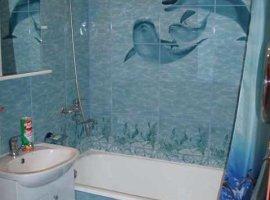 Отделка ванной комнаты на даче плиткой