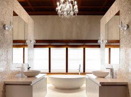 дизайн интерьера ванная комната