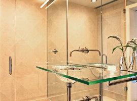 Стеклянные раковины для ванной фото