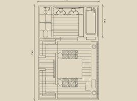 Планировка ванной комнаты2