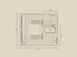 Планировка ванной комнаты6