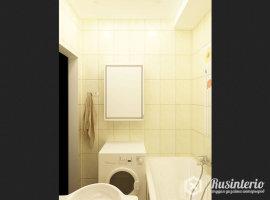 Дизайн ванной комнаты 4 кв.м со стиральной машиной