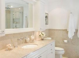 шкаф угловой в ванную комнату