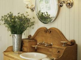Классическая мебель для ванной комнаты