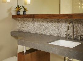 столешница для ванной с раковиной