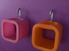 Мебель для ванной комнаты в стиле Авангард