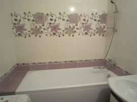 плитка для ванной комнаты ремонт