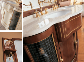 Мебель для ванной комнаты в классическом стиле
