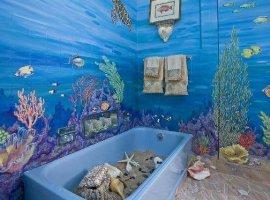 Красивые пластиковые панели в ванной