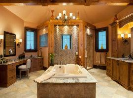 большие ванные комнаты дизайн