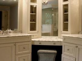 Угловая мебель для ванной фото