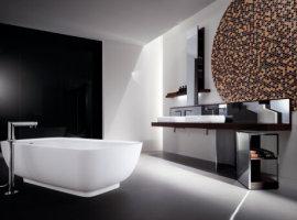 Мебель для ванной комнаты в стиле Хай-тек