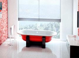 Стальные эмалированные ванны