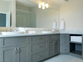 шкаф навесной в ванную комнату
