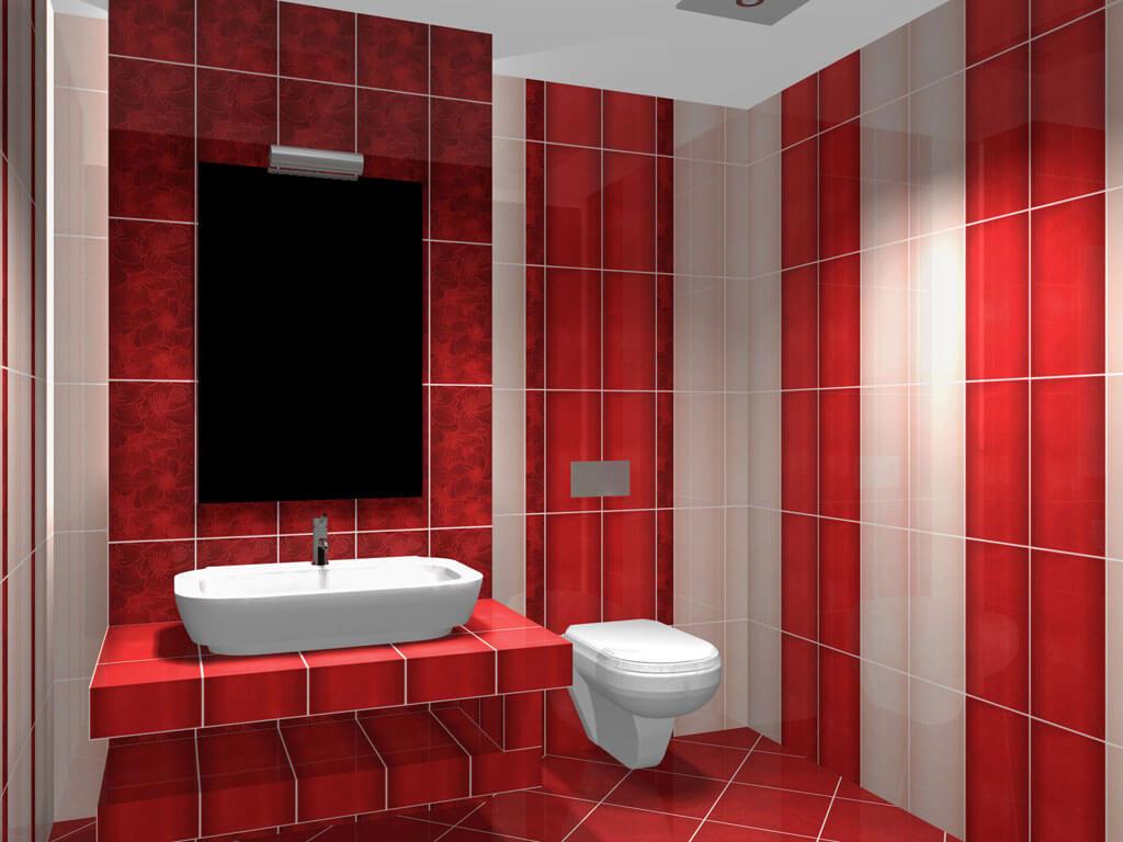 цвет стен в ванной комнате / источник