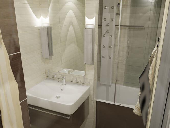 Ремонт ванной комнаты в панельном доме своими руками