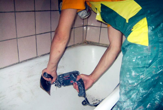 Покрасить ванную в домашних условиях фото 239