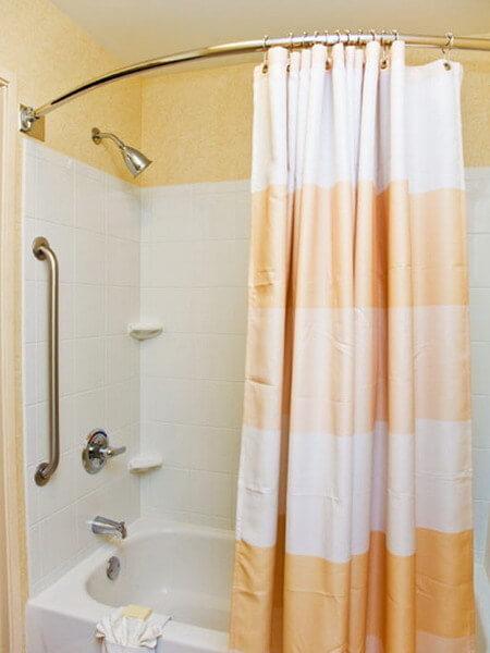 гардина со шторкой для ванны Федерального бюро