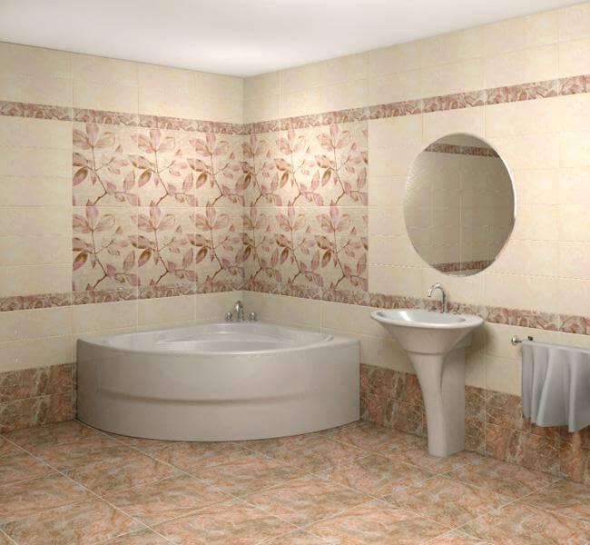 Дизайн ванной комнаты фото мозаика плитки