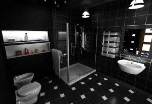 оформление ванных комнат плиткой фото