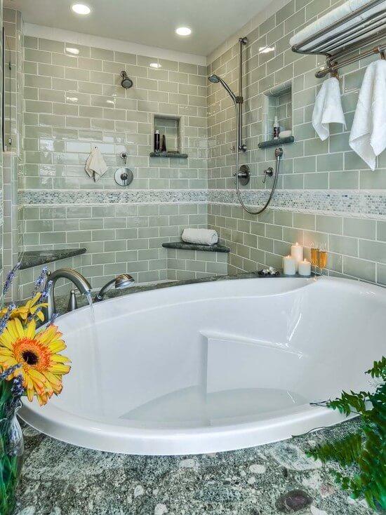 найти инструкцию по отделке ванной