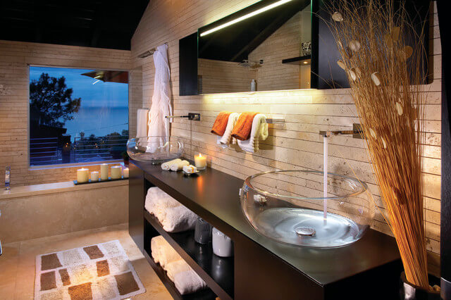 Стеклянные раковины для ванной Mindo