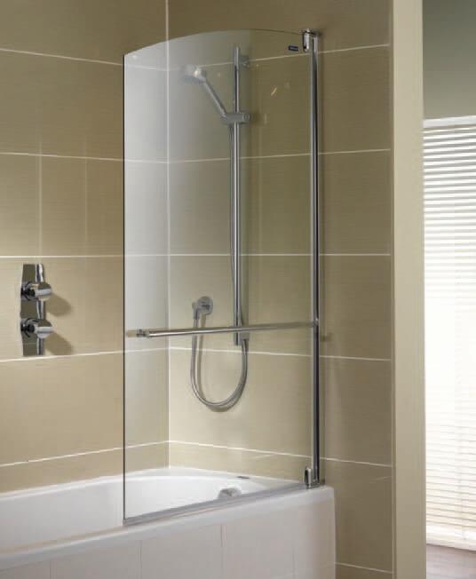 Стеклянная шторка для ванной своими руками 556