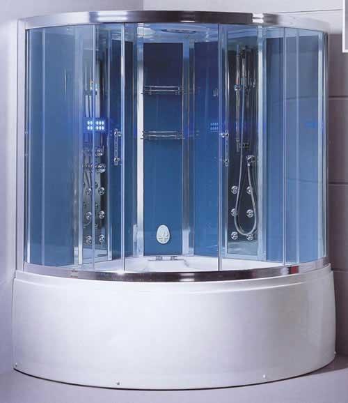 Душевые кабины с ванной - преимущества