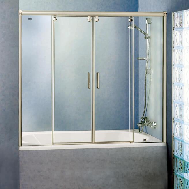 Пластиковая штора для ванной