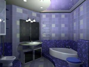 Стоимость отделки ванной плиткой