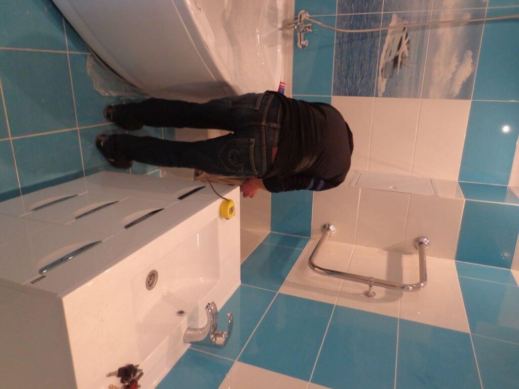 Недорогой ремонт в ванной своими руками