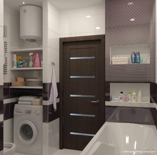 фото дизайн ванной 6 кв.м