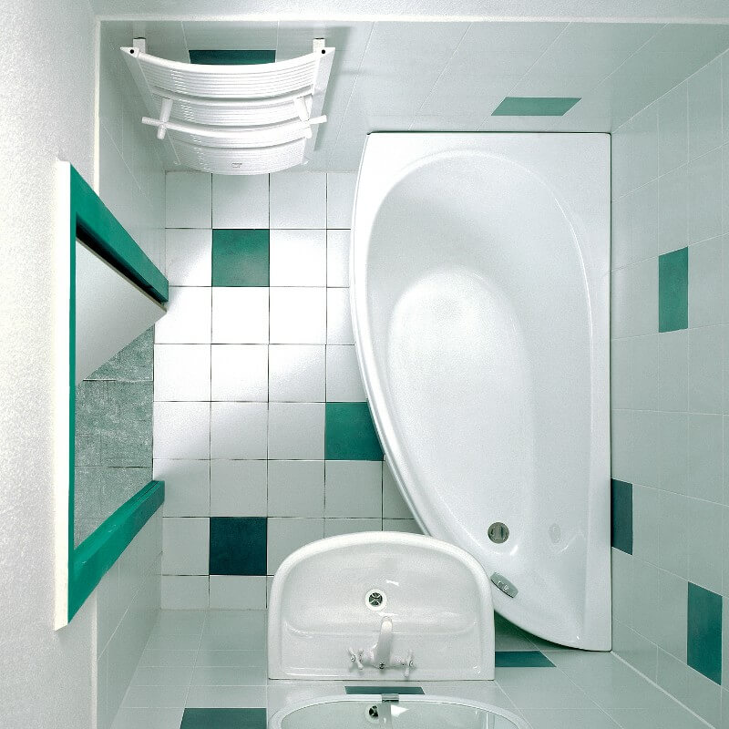 дизайна является освещение в ванной