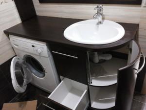 тумба в ванную комнату напольная