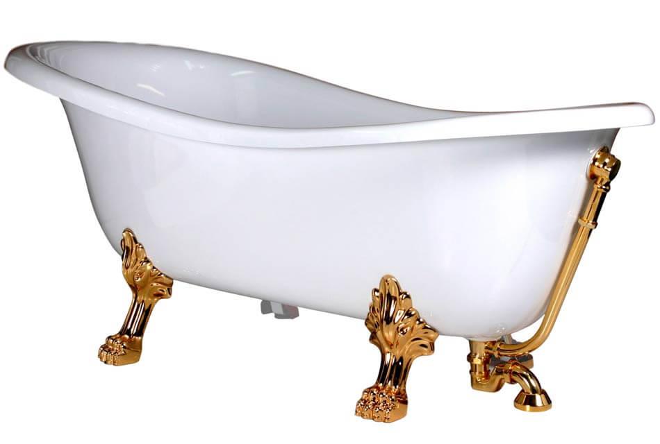 Ванны из акрила на ножках