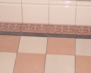 Раскладка плитки в ванной Шов в шов