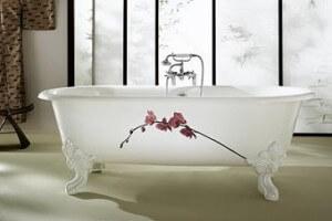Чугунная ванна Cleo
