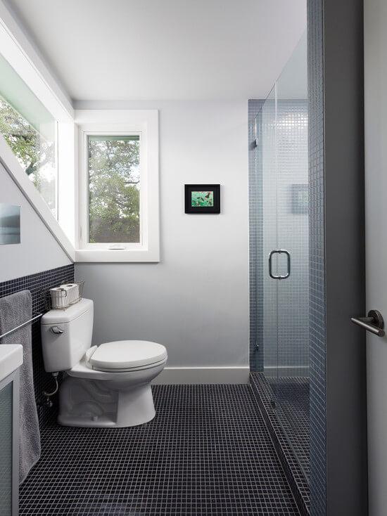 Отделка ванной комнаты плиткой (57 фото варианты